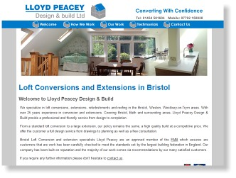 lloydpeaceydesignandbuild.co.uk